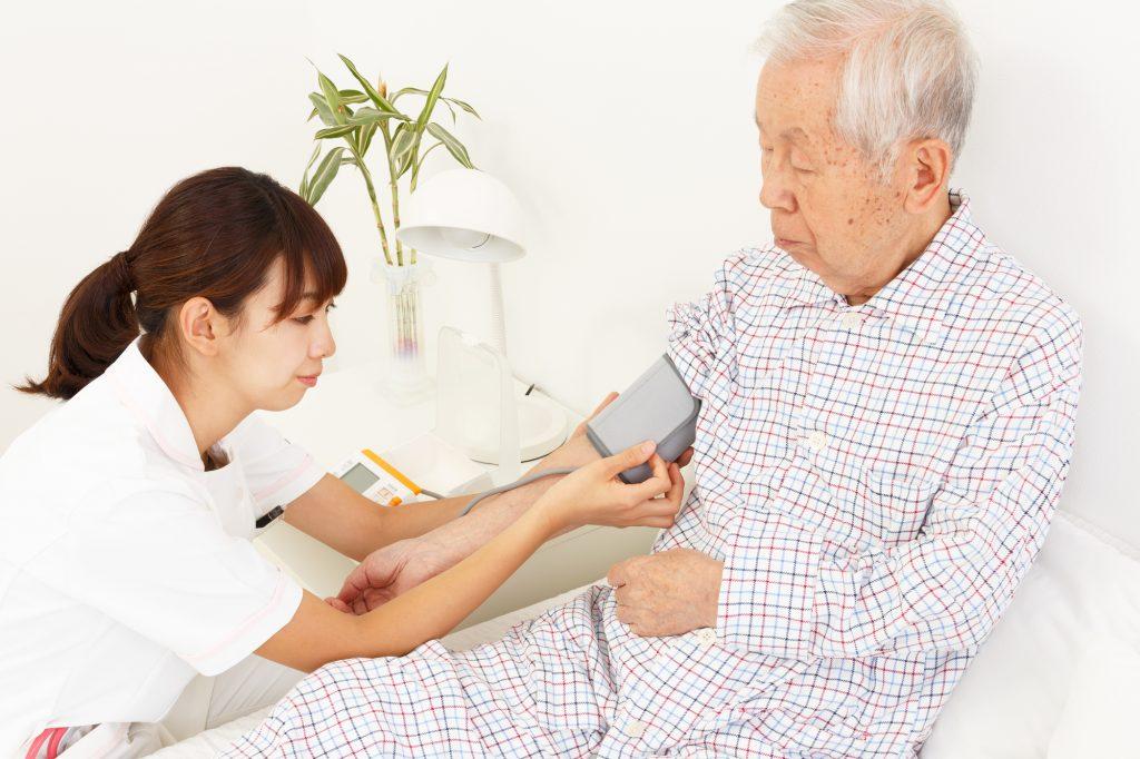 血圧を計る