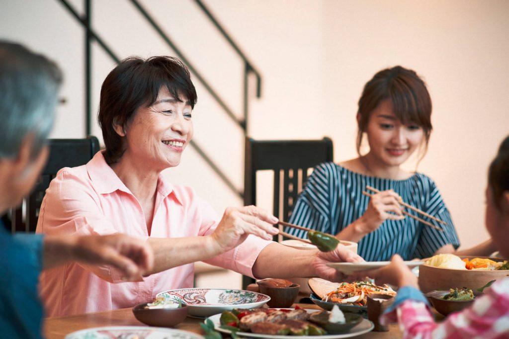 家族との食事