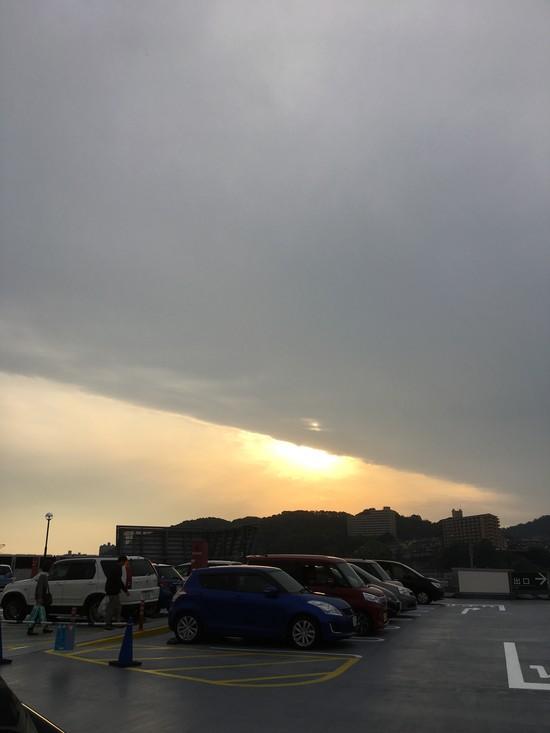 雲 写真 地震